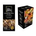 Barra de Chocolate Natural 50% cacau com Amêndoas Ouro Moreno 80g - Caixa com 10