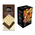 Barra de Chocolate Duo Puro 50% Cacau e Branco Ouro Moreno 80g - Caixa com 10