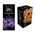 Barra de Chocolate Diet 50% cacau Low Carb com Eritritol 80g - Caixa com 10