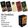Mix Puro & Coco  - Barras 80g Caixa com 10 unidades