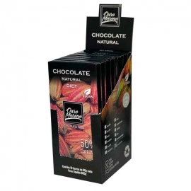 CHOCOLATE  Diet - BARRAS 80gr CAIXA COM 10 Un.