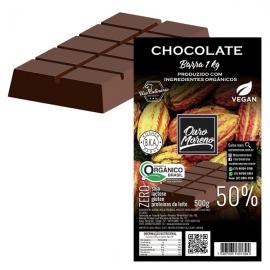 Barra de Chocolate Orgânico para derreter 100% Cacau Ouro Moreno - 1 kg