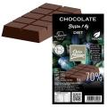Barra Chocolate  Diet 70% cacau com Maltitol - Barra 1 kg