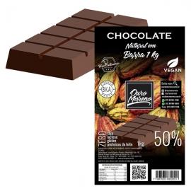 Barra de Chocolate para derreter 50% cacau Ouro Moreno - 1 kg