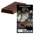 Barra de Chocolate para derreter 70% Cacau Ouro Moreno - 1 kg