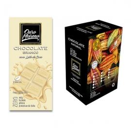 Chocolate branco - barras 80 g caixa com 10 un.