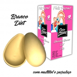 Ovos de páscoa branco diet  250g