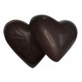 2 Cascas de coração Presente natural 50% Cacau - 250gr