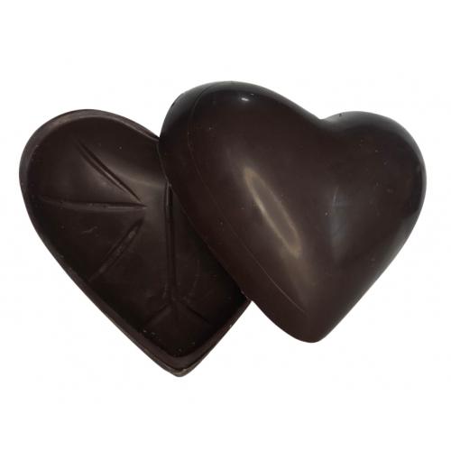 4 cascas de coração puro 50%