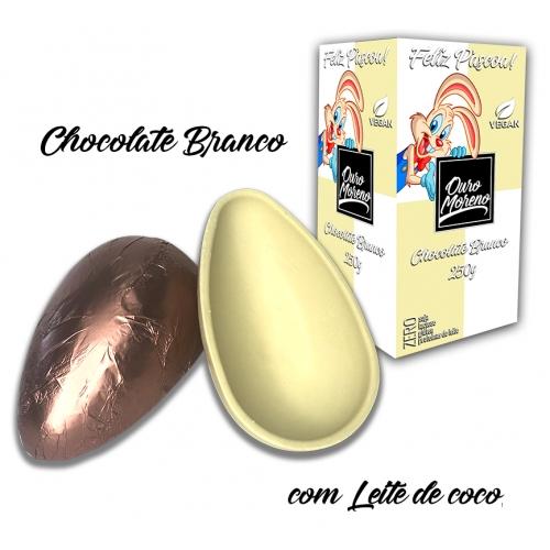Ovos de páscoa 250g branco