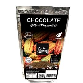 Chocolate fragmentado para uso culinário 50% cacau