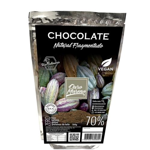 Chocolate fragmentado para uso culinário 70% cacau