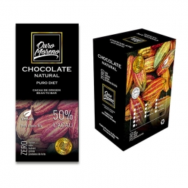 Chocolate diet - barras 80 g caixa com 10 un.